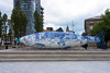 THE BIG FISH NEAR THE LAGAN WEIR - PUBLIC ART IN BELFAST CITY