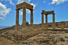 Lindos Acropolis, Rhodes, Greece 31.05.14 (Retroscania!) Tags: holiday castle greece acropolis rhodes lindos