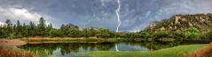 Untitled_Panorama1_2_3_tonemapped (lightning) (Michael-Wilson) Tags: arizona sky lake storm clouds az lightning prescott granitemountain michaelwilson granitebasinlake michaelwilsoncom