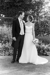Mr & Mrs (Sophie Carr Photography) Tags: wedding portrait bw couple weddingphotography bwportrait portraitphotography