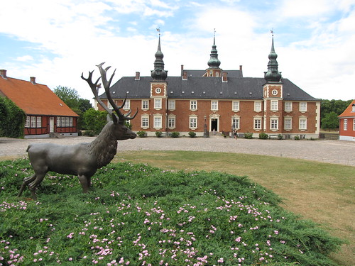 Dating from the 14th c., the palace was originally called Abrahamstrup