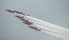 BAE Systems Hawk T1A (Boushh_TFA) Tags: red netherlands nikon force hawk air nederland royal systems arrows nikkor bae base raf t1 80400mm 2014 d600 gilzerijen glz rijen t1a f4556 vrii luchtmachtdagen ehgr