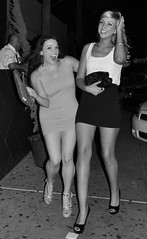 CAKE (A Richie) Tags: street girls arizona bw cute sexy beautiful smile night blackwhite women pretty dress smiles streetphotography clubbing az scottsdale nightlife nightclubs oldtownscottsdale nikond5000 guerrillastyle