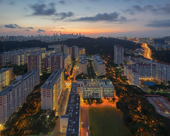 Telok Blangah (bing dun (nitewalk)) Tags: sunrise singapore hdb telok blangah