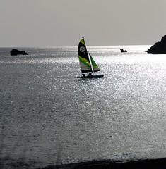 A Cretan Odyssey - Sailing on a Silver Sea.... (antonychammond) Tags: crete silver sea greece sailingboat yacht damnoni greekisland mediterranean rethymnon 451 magicmomentsinyourlife photosandcalendar magicmomentsinyourlifelevel2 gününeniyisithebestofday natureandpeopleinnature explorewinnersoftheworld anawesomeshot