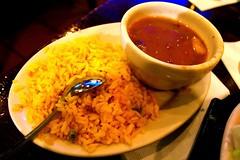 Rice and beans (Guapo's Restaurant) (M. Gabriela Contreras) Tags: food arlington virginia beans rice delicious mexican foodporn