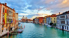 venice sunset (Rex Montalban Photography) Tags: venice sunset italy europe hdr pontedellaccademia accademiabridge rexmontalbanphotography