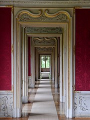 Zimmerflucht   /  Suite of rooms (rudi_valtiner) Tags: rooms doors räume palace graz schloss chateaux steiermark styria türen türrahmen eggenberg doorframes