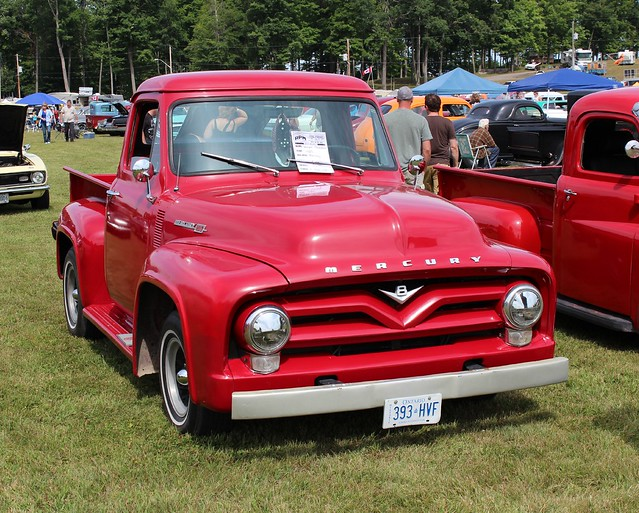 ©richardspiegelmancarphoto 1955mercurym100pickup havelockshow2014