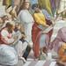 Raphael, Pythagoras, Parmenides (?), and Heraclitus