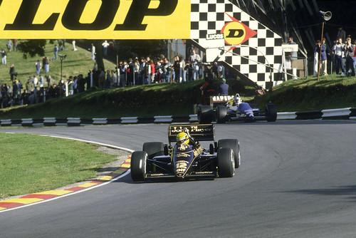 JPS Lotus 97T F1, Ayrton Senna, 1985