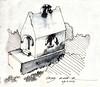 family grave kumar (sebastjancvelbar) Tags: white black art grave graveyard architecture sketch tomb slovenia ljubljana vault croquis kumar plecnik jozef plečnik žale jožef