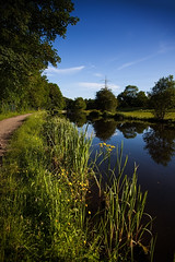 Towpath - Evening Light (Mark Winterbourne | markwinterbourne.com) Tags: england west liverpool canal bradford unitedkingdom yorkshire leeds markwinterbourne