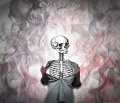De l'intrieur (Flophotographies) Tags: photoshop dark autoportrait brush montage chemise fume squelette ttedemort sonydschx10v