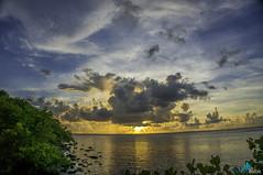 Tampa Bay Causeway (dbubis) Tags: ocean sunset sky beach clouds tampa gulf florida hdr causeway bubis dbphoto nex6
