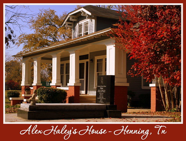 Things for Sale: Post Card: Alex Haley House - Henning, TN