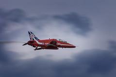 Lady in Red (John Penberthy LRPS) Tags: sky airplane nikon aircraft redarrows raf dunsfold wingsandwheels d90 johnpenberthy