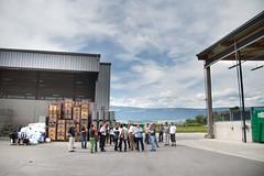 Visite d'un centre de tri des dchets (Nicolas Christe) Tags: schweiz switzerland suisse wallis yverdon cours valais consommation dchets recyclage pusch fddm dchterie