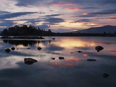 HERE COME THE SUNS (kenny barker) Tags: dawn scotland rannochmoor kennybarker
