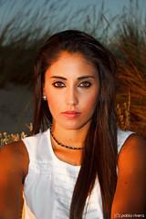 ngela, 22 Agosto 2014 (Pablo_Rivera) Tags: portrait espaa beach beauty model retrato huelva modelo angela matalascaas seleccionar