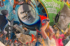 The peoples march (Bev Goodwin) Tags: liverpool mural thepeoplesmarch theoldblindschool theliverpoolschoolfortheblind