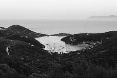 Syvota bay (alexpapad) Tags: sea white mountain seascape black water boats island bay vision syvota lefkada leukada ionion