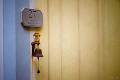 Cinque Terre Door Ornament (I am a potato) Tags: door italy sign bell ducks ornament terre cinque