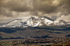 Spring Storm Over Squaw Butte (http://fineartamerica.com/profiles/robert-bales.ht) Tags: trees mountain snow storm mountains beautiful clouds wow landscape town spring butte superb sweet farm awesome fineart scenic surreal peaceful idaho boise sensational states inspirational spiritual sublime magical tranquil emmett magnificent rollinghills inspiring haybales stupendous iphone payetteriver thebutte canonshooter treasurevalley gemcounty squawbutte emmettphotography farmphotography idahophotography emmettvalley sceniclandscapephotography robertbales