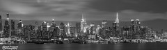 New York City Skyline Black N White (kirit prajapati photography) Tags: city nyc blackandwhite ny newyork electric night clouds newjersey energy exposure nj esb empirestatebuilding chryslerbuilding bigapple bloombergbuilding nycity citibuilding weehawkennj empirstatebuilding nikond810 nikon2470mm28 bestskyline citineversleep bestskylineinworld 432park