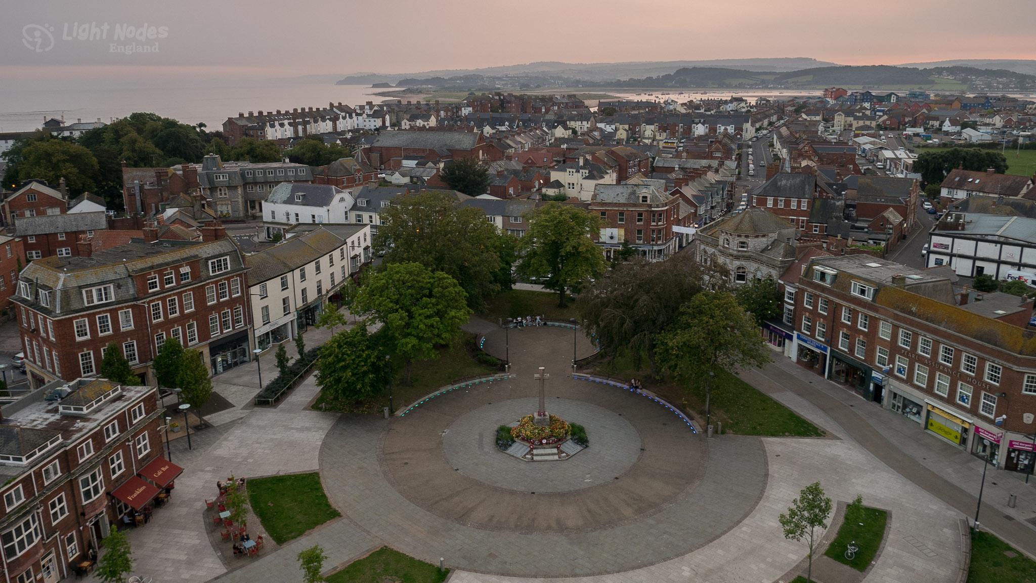 GM1 - September evening in Exmouth, Devon