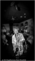 """Flying Solo (""""SnapDecisions"""" photography) Tags: music nikon florida jazz jupiter sax d800 tenor hirschfeld snapdecisions doubleroads jupiterjazzsociety"""