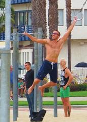 Avabeach 162 (danimaniacs) Tags: shirtless man hot sexy guy beach santamonica hunk shorts avabeach
