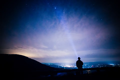 Me at 3 am in the morning (ExceptEuropa) Tags: park sky people night stars long exposure national nightsky shenandoah
