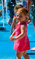 Can I Go In? (pam's pics-) Tags: summer girl fun kid colorado child statefair joy fair co littlegirl pueblocolorado hotweather pammorris pamspics nikond5000