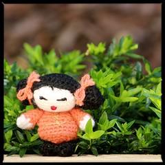 Geisha ami (kit_kaht - Kat) Tags: japan handmade crochet ami geishagirl crochettoy amigurumist