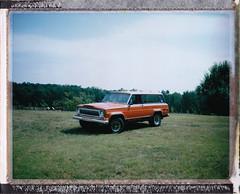 Chief (RichardGlenSailors) Tags: camera polaroid jeep chief automatic land fujifilm cherokee amc 250 fp100c