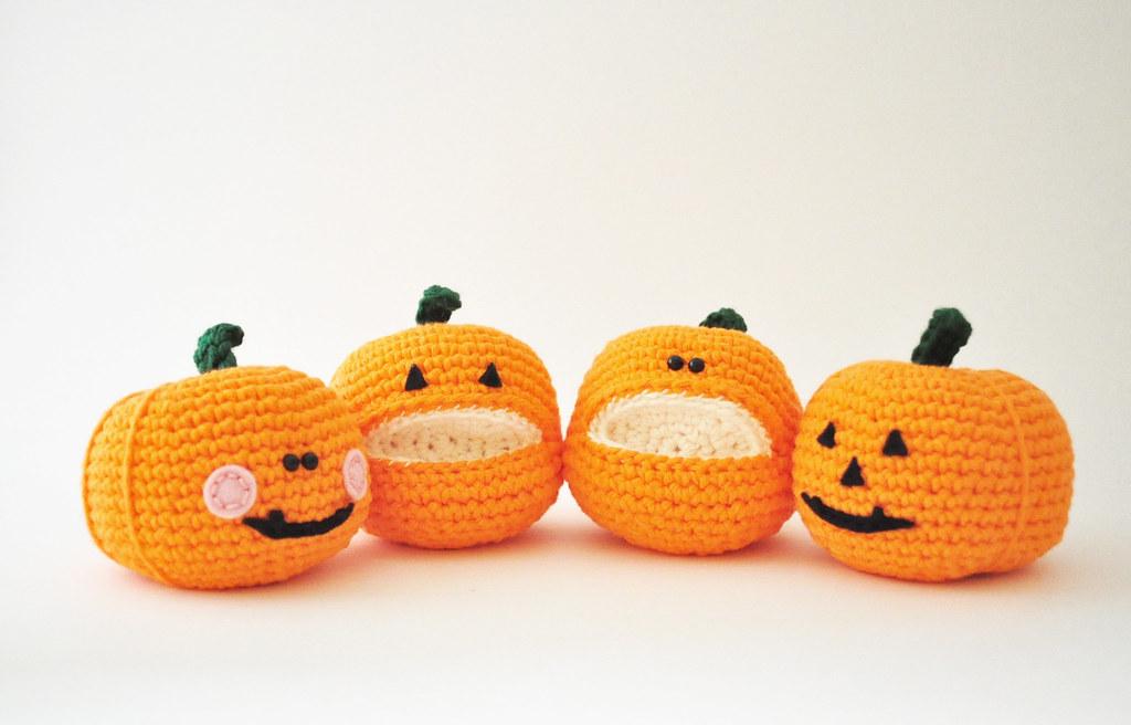 Halloween Pumpkin Amigurumi : The Worlds newest photos of amigurumi and pumpkin ...