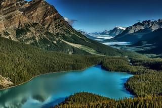Peyto Lake, Banff Alberta