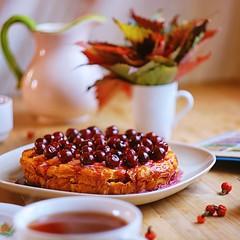 IMG_0100 (Choco maniac) Tags: autumn food colors beautiful leaves cake wonderful cherry pie dessert design yummy amazing nikon yum sweet bokeh style tasty delicious foodporn homemade bakery lovely foodpics