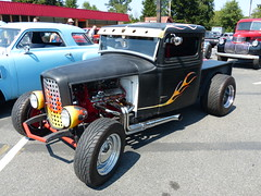 Ford HotRod (bballchico) Tags: ford hotrod pickup truck flames ratbastardcarshow rattruck ratbastardsinfestationcarshow 2014 206 washingtonstate