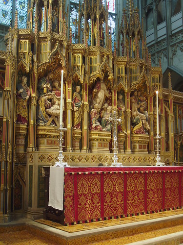 Altar & Reredos Gloucester Cathedral
