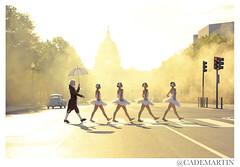 Abbey Road (cademartinphoto) Tags: ballet usa sunshine dc washington dance bach capitol beatles conceptual crosswalk epic narrative ballerinas
