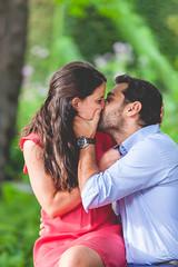 Sesión de pre-boda en el jardín botánico de Madrid