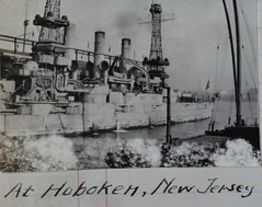 AL-82 Tat Tatman Album (San Diego Air & Space Museum Archives) Tags: ship aviation battleship usnavy usn warship unitedstatesnavy usslouisiana nc4 predreadnought usslouisianabb19 bb19 cagemasts cagemast latticemasts latticemast connecticutclass predreadnoughtbattleship tattatman