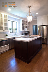 Kitchen Design Concepts - Classic white & marble kitchen (@Elmwoodkitchens) Tags: classic kitchen dallas interiors rooms texas sink interior room ii restoration renovations marble renovation remodel interiordesign remodeling hardwood induction elmwood gooseneck remodelling interiordesigners