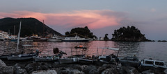 Fading Light - Parga Harbour ( Greek mainland) (Canon EOS 7D & EF-S 17-55mm f2.8 Zoom) (1 of 1) (markdbaynham) Tags: greece parga harbour greek grecia greka hellas hellenic bioat sea cloud sky colour canon canonite canonites eos 7d efs 1755mm f28 zoom