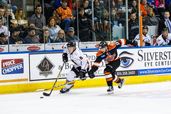 "Missouri Mavericks vs. Ft. Wayne Komets, November 12, 2016, Silverstein Eye Centers Arena, Independence, Missouri.  Photo: John Howe/ Howe Creative Photography • <a style=""font-size:0.8em;"" href=""http://www.flickr.com/photos/134016632@N02/22807415278/"" target=""_blank"">View on Flickr</a>"