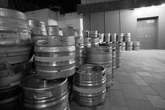untitled (robwiddowson) Tags: beer barrels kegs keg metal night lowlight photo photograph photography image picture robertwiddowson