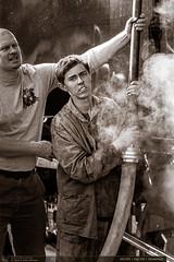 433.002 | tra 330 | Otrokovice (jirka.zapalka) Tags: parnilokomotiva historickevozidlo train 433002 denkraje2016 stanice lide trat330 otrokovice
