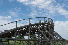 Beech Bend-8 (alexsabatka) Tags: beechbend amusementpark bowlinggreenky bowlinggreen kentucky rollercoaster kentuckyrumbler gci woodencoaster themepark ridewithace ace americancoasterenthusiasts